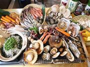◆お昼は大人気!海鮮浜焼き食べ放題!