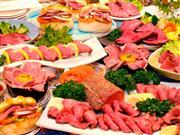 ★上州牛のローストビーフ尽くし♪50分食べ放題!