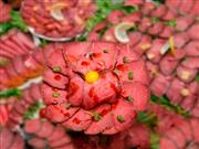 ★上州牛ローストビーフ丼の昼食!