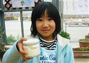 ◆酪農王国でバター作り