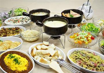 ◆食べ放題のランチビュッフェ◆