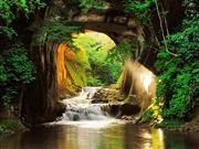 濃溝の滝(イメージ)