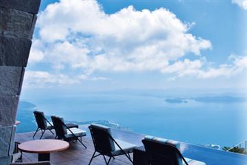 【名古屋・戸田発】ロープウェイで行く天空の絶景スポットびわ湖テラス 圧巻!ダリアのお花畑