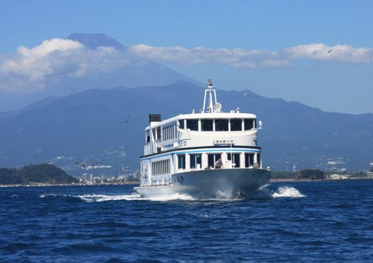 ◆駿河湾ミニクルーズ