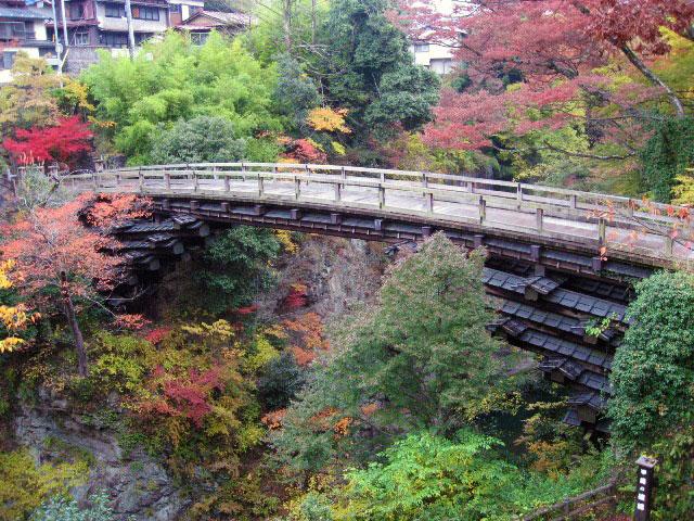 名勝「甲斐の猿橋」