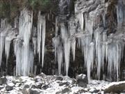 三十槌の氷柱 ※イメージ