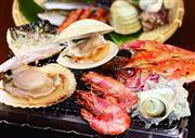 ◆小田原漁港 浜焼きセンター「あぶりや」で 海鮮浜焼き約80分食べ放題!