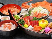 ★冬の味覚♪佐渡沖直送の紅ズワイガニをまるごとご賞味!