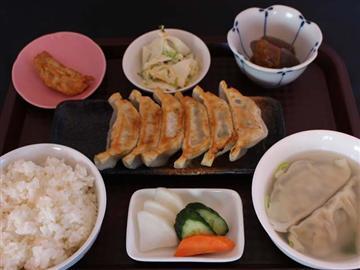 ★宇都宮といえば餃子!栃木県産にこだわった宇都宮餃子の昼食♪