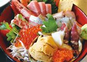 昼食:海鮮丼(イメージ)