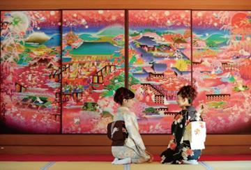 【一宮・江南発】京都さくら色フルコース~桃色鍋とおばんざい食べ放題~