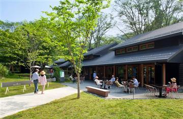 夏の軽井沢を満喫、星野温泉トンボの湯とハルニレテラスを散策&国内最大級アウトレットでお買い物も出来るバスツアー!