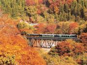 お座トロ展望列車※イメージ 画像提供:会津鉄道