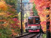展望列車「きらら」 画像提供:比叡電鉄 ※イメージ