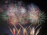 2つの花火大会で12,000発が楽しめる!第77回川崎市制記念多摩川花火大会 ※画像はイメージです。
