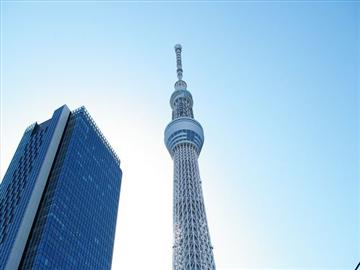 360度の大迫力!東京スカイツリー展望デッキ入場と20種類の握り寿司食べ放題