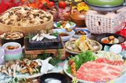 デラックス松阪牛&近江牛と特選松茸フルコース会席の昼食 ※イメージ