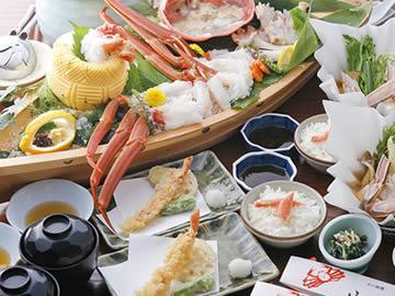 【由良・御坊・湯浅発着】旨い蟹が食べられる店「山よし」で活け蟹料理と平安神宮参拝