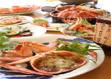 【由良・御坊・湯浅発着】1度は食べてみたい幻の蟹・間人蟹(たいざがに)を食す!間人蟹お試しコースで贅沢・満腹旅