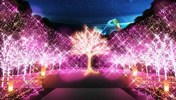 関東最大級!! 600万球のイルミネーション  『さがみ湖イルミリオン』と約80種類のランチビュッフェ『フジヤマテラス』