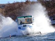 ★山中湖 水陸両用バス