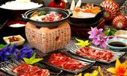 松阪牛の焼き肉食べ放題の昼食 ※イメージ