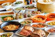 豪華お正月限定メニューバイキングの昼食 ※イメージ