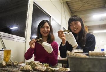 【和歌山市発着】海のミルク・焼き牡蠣食べ放題と都市型空間を創造する21世紀の実験型植物館【淡路夢舞台・奇跡の星の植物館】