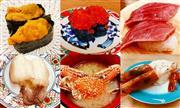 大ネタ回転寿司食べ放題! ※ボタン海老または赤海老は一人一皿です。 ※イメージ