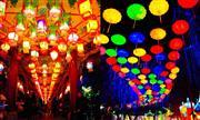 チャイナランタンフェスティバル(本場・中国でのランタン祭りの様子) ※イメージ