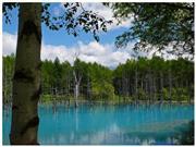 青い池 ※イメージ