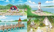 メッツァビレッジ&ムーミンバレーパーク (c) Moomin Characters TM ※イメージ