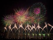 諏訪湖花火※イメージ 画像提供:諏訪地方観光連盟