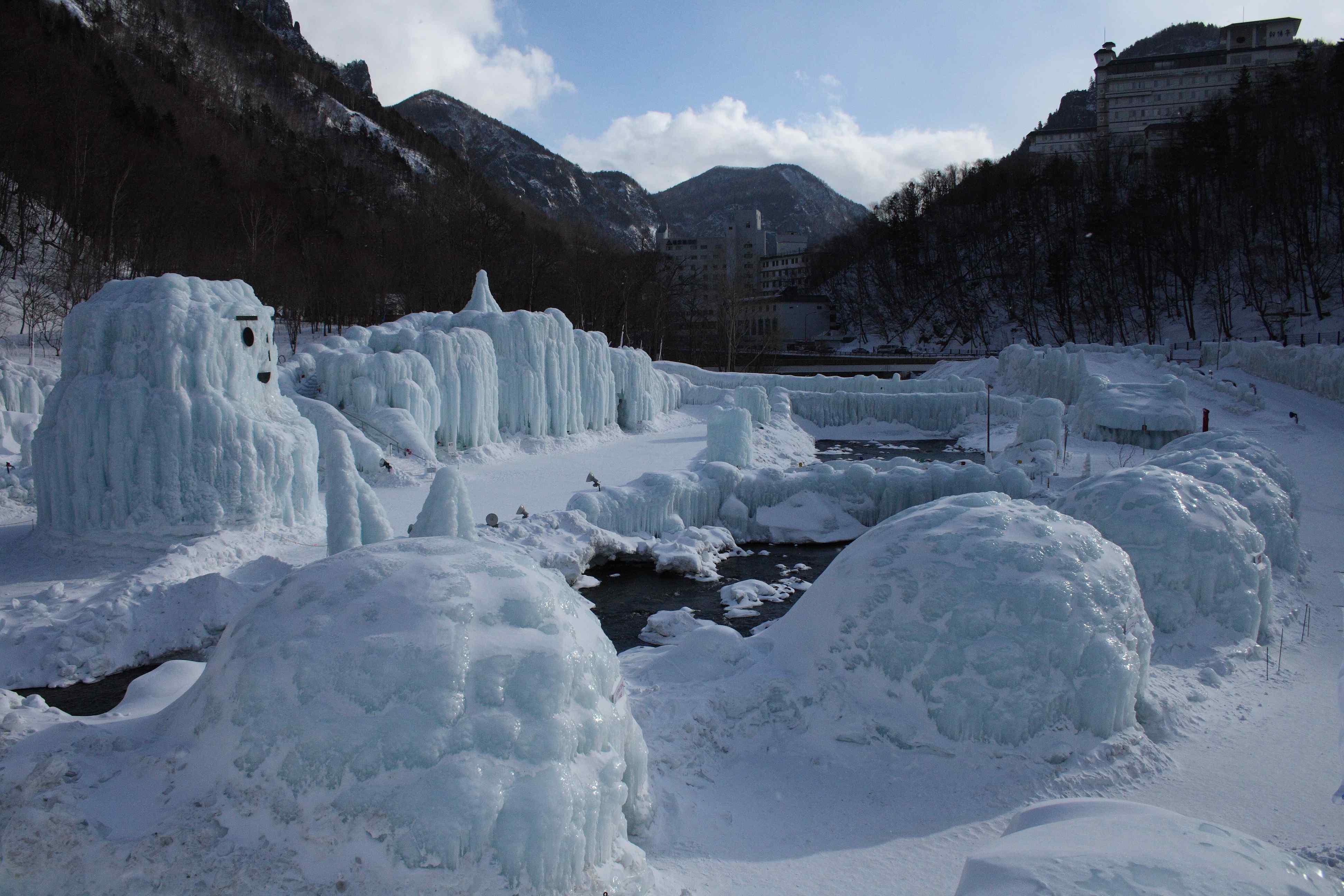 氷瀑まつり(昼) ※イメージ