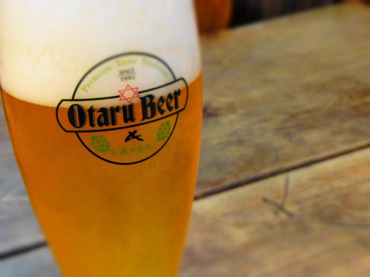 小樽ビール ※イメージ