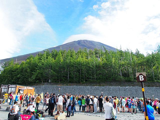 ※富士山五合目(イメージ