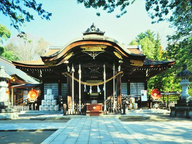 武田神社 画像提供:公益社団法人やまなし観光推進機構