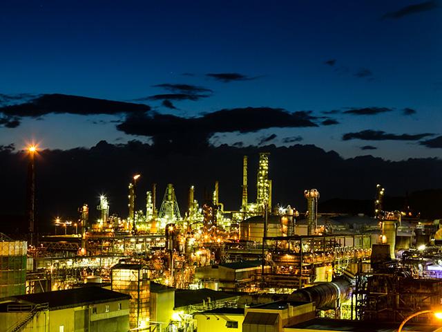 室蘭工場夜景 ※イメージ