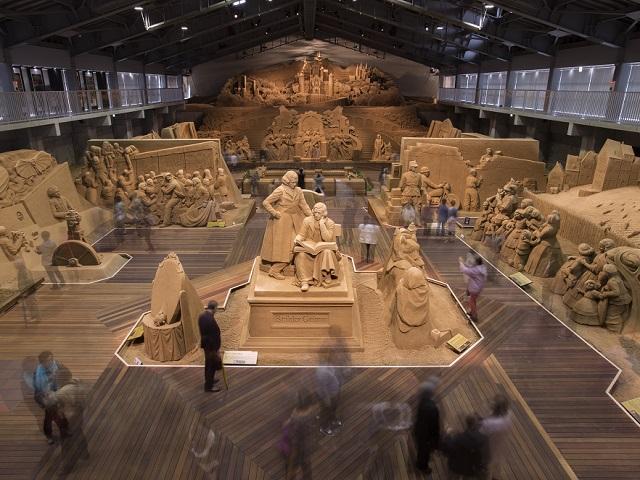 砂の美術館 ※イメージ
