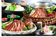 極みの蟹フルコース