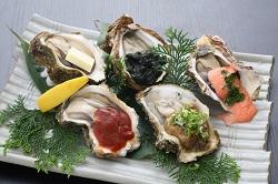 牡蠣の彩り焼き(チョイスメニュー)
