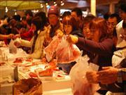 三崎宇マグロ祭り三崎朝市 画像提供:三崎朝市協同組合 広報室