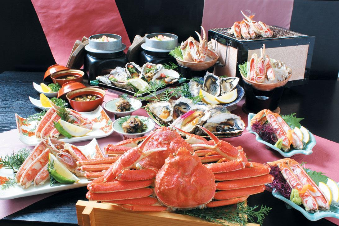 かに牡蠣フルコース(イメージ)