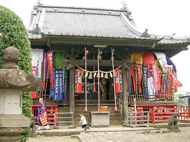 満福寺(毘沙門天)