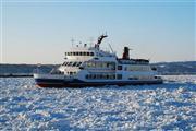 流氷砕氷船「おーろら」で流氷を見よう。