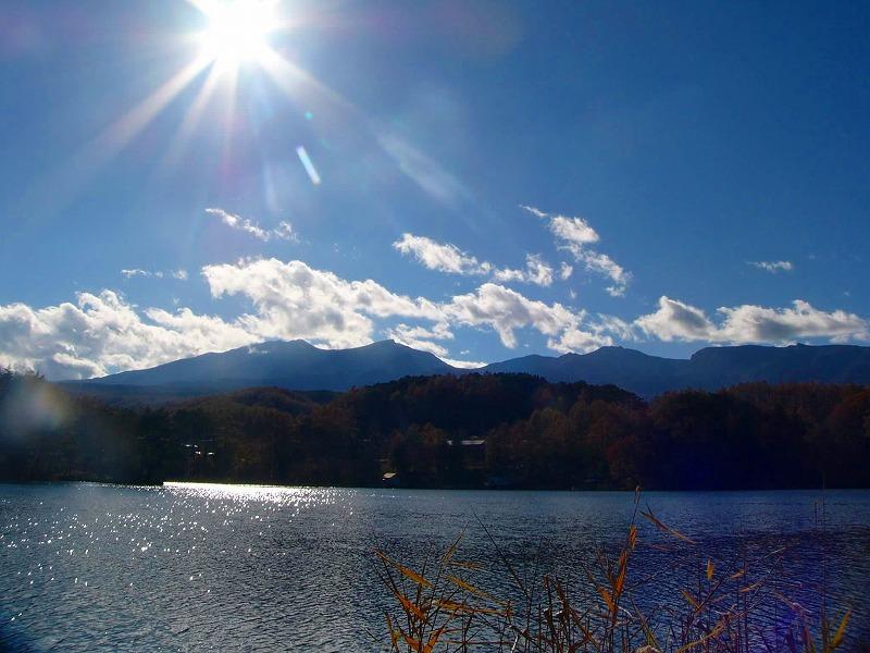 松原湖 ※イメージ