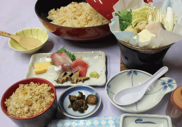 鯛めし食べ放題(イメージ)