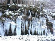三十槌の氷柱 画像提供:秩父市観光課